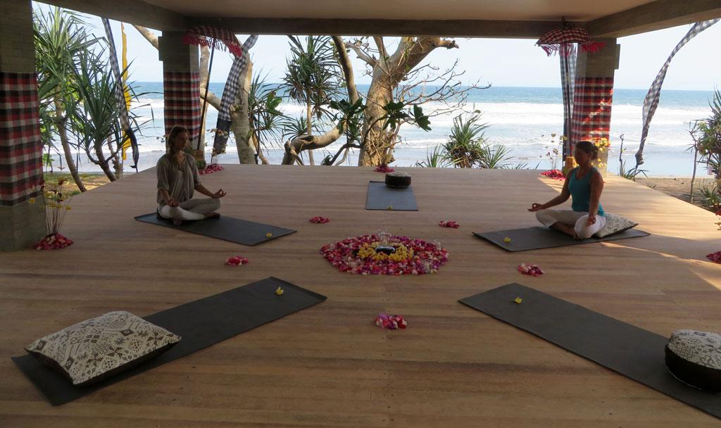 Yoga at Kelapa Retreat
