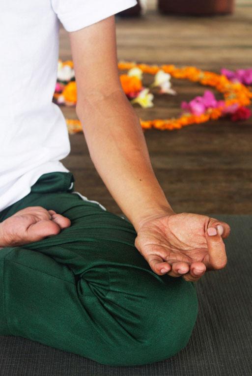 Yoga and Meditation at Kelapa Retreat